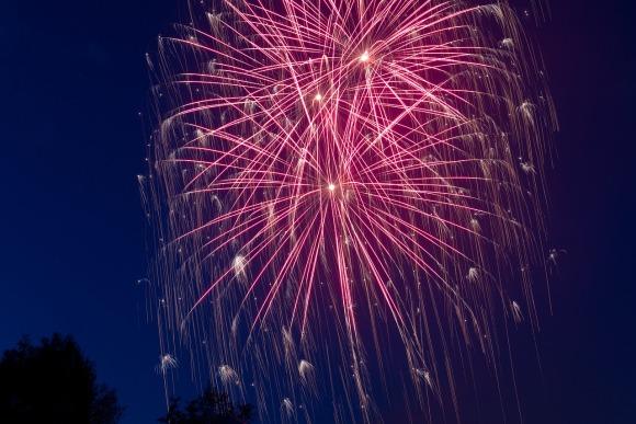 Neues Jahr Feuerwerk